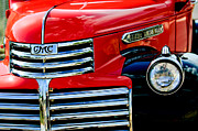 Classic Pickup Metal Prints - 1942 GMC  Pickup Truck Metal Print by Jill Reger