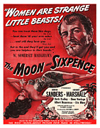 Motion Picture Posters - 1942 The Moon and Sixpence Motion Picture Poster Poster by Carter Jones