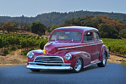 Street Rod Art - 1946 Chevrolet Fleetmaster by Dave Koontz