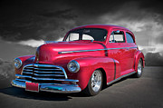 Street Rod Art - 1946 Chevrolet Sedan  by Dave Koontz