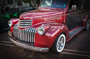 Detailed Rich Prints - 1946 Chevrolet Sedan Panel Delivery Truck  Print by Rich Franco