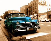 Caddy Posters - 1947 Cadillac Convertible Poster by Jon Woodhams