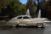 1947 Cadillac Coupe Rodtique Print by Tim McCullough