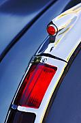 1947 Photos - 1947 Cadillac Model 62 Coupe Taillight  by Jill Reger