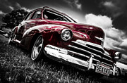 Aotearoa Metal Prints - 1947 Chevrolet Stylemaster Metal Print by motography aka Phil Clark