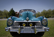 Headlamp Photos - 1947 Hudson Commodore by Debra and Dave Vanderlaan