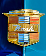 1947 Photos - 1947 Nash Suburban Emblem by Jill Reger