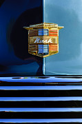 Historic Vehicle Prints - 1947 Nash Surburban Hood Ornament Print by Jill Reger