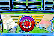 Featured Art - 1947 Packard Grille Emblem by Jill Reger