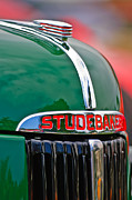 1947 Photos - 1947 Studebaker M5 Pickup Truck Grill Emblem - Hood Ornament by Jill Reger