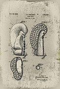1948 Boxing Glove Patent Print by Digital Reproductions