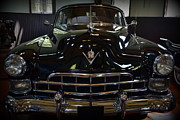 Motor Metal Prints - 1948 Cadillac Front Metal Print by Michelle Calkins