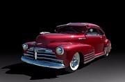 Fleetline Posters - 1948 Chevrolet Fleetline Custom Poster by Tim McCullough