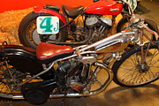 Bicycle Photos - 1948 J.A.P. Speedway Racer 5D25773 by Wingsdomain Art and Photography