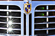1948 Photos - 1948 Lincoln Continental Grille Emblem by Jill Reger