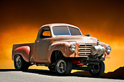 Street Rod Art - 1948 Studebaker Gasr Up by Dave Koontz
