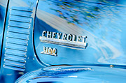 Chevrolet 3100 Framed Prints - 1949 Chevrolet 3100 Pickup Truck Emblem Framed Print by Jill Reger