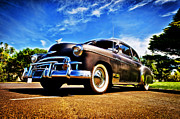 Aotearoa Metal Prints - 1949 Chevrolet Deluxe Metal Print by motography aka Phil Clark
