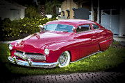 Racer Framed Prints - 1949 Mercury Club Coupe Framed Print by Rich Franco
