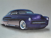 1949 Mercury Print by Paul Kuras