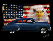 Automotive Photos - 1949 Pontiac Tribute Roger by Peter Piatt