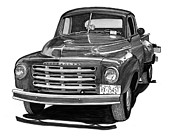 Presidents Framed Prints Framed Prints - 1949 Studebaker Pick Up Truck Framed Print by Jack Pumphrey