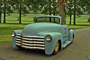1950 Chevrolet Custom Convertible Pickup Truck  Print by Tim McCullough