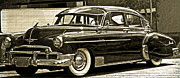 Shows Framed Prints - 1950 Chevrolet Framed Print by Gwyn Newcombe