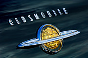 Oldsmobile Photos - 1950 Oldsmobile 88 Emblem by Jill Reger
