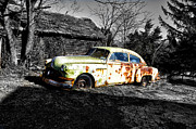 Junker Prints - 1950 Pontiac Silver Streak 88 Print by Bill Cannon
