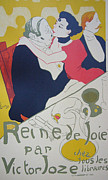 Original Lithographs Drawings - 1950 Vintage French Art Book - Les Affiches de Toulouse Lautrec by Toulouse-Lautrec After