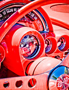 Autofocus Art - 1950s Corvette by Phil