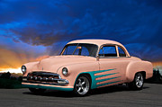 1951 Chevrolet Custom Coupe Print by Dave Koontz