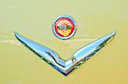 1951 Chrysler New Yorker Convertible Emblem Print by Jill Reger