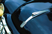 Car Photography Posters - 1951 Fiat Hood Ornament - Emblem Poster by Jill Reger
