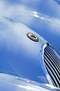 1951 Metal Prints - 1951 Jaguar Grille Emblem Metal Print by Jill Reger