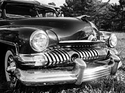 Grill Prints - 1951 Mercury Coupe - American Graffiti Print by Edward Fielding