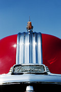 Motor Metal Prints - 1951 Pontiac Chieftain  Metal Print by Tim Gainey