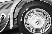 Wheel Photos - 1952 Frazer-Nash Le Mans Replica MkII Competition Model Tire Emblem by Jill Reger