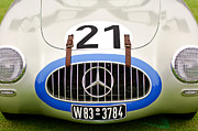 Shows Posters - 1952 Mercedes-Benz W194 Coupe Poster by Jill Reger