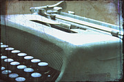 Outmoded Prints - 1952 Olivetti Typewriter Print by Georgia Fowler