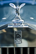 Historic Vehicle Prints - 1952 Rolls-Royce Hood Ornament Print by Jill Reger