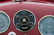 Roadster Photos - 1953 Aston Martin DB2-4 Bertone Roadster Instrument Panel by Jill Reger