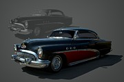 1953 Buick Posters - 1953 Buick Low Rider Poster by Tim McCullough