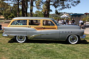 1953 Buick Posters - 1953 Buick Roadmaster Estate Woody Stationwagon 5D22756 Poster by Wingsdomain Art and Photography