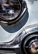 Daniel Photography Art - 1953 Chevy Headlight Detail by  Onyonet  Photo Studios