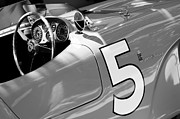 Spyder Prints - 1953 Ferrari 375 MM Spider Print by Jill Reger