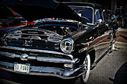 Ford Customline Framed Prints - 1953 Ford Customline in Classy Black Framed Print by JW Hanley