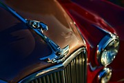 Jaguar Art Posters - 1953 Jaguar MK7 Poster by Paul Ward