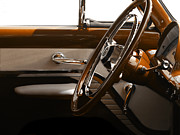 Antique Automobiles Art - 1953 Mercury Bucket  by Steven  Digman